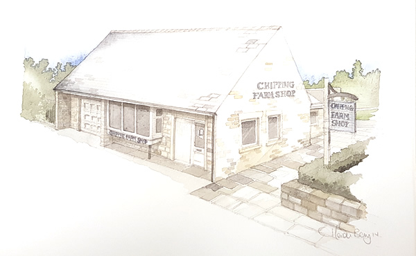 Illustration of Chipping Farm Shop